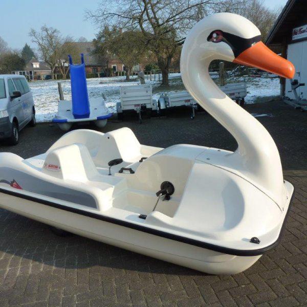 Schwan Treetboot Einfelder See