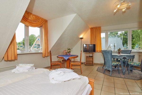 Gästezimmer Dependance mit Pantryküche im Haus Unter den Linden