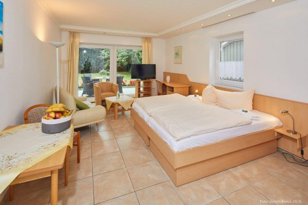 Gästezimmer in Dependance Haus Waldeck